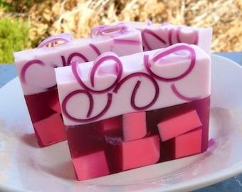 Sweet Pea Soap, Homemade soap, glycerin soap, Vegan Soap, Homemade Soaps, Soap Bars