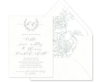 Heirloom Romance Wedding Invitations