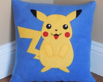 Pokemon Pikachu Pillow