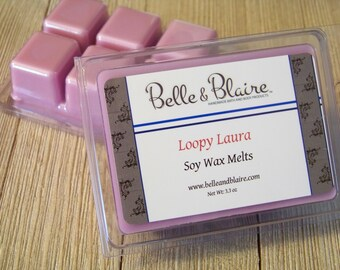 Loopy Laura- Soy Tarts- Scented Soy Wax Melts- Gift For Women
