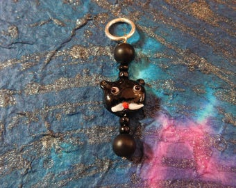 Black Cat Stitch Markers
