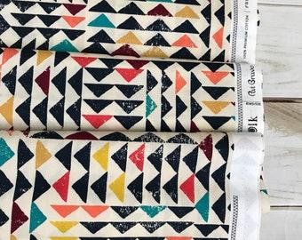 Trojkat Sunrise ~ Indie Folk Collection by Pat Bravo for  Art Gallery Fabrics 100% Cotton