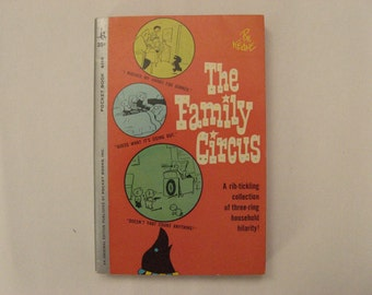 The Family Circus by Bil Keaton, published by pocket books nr. 6110 : Vintage comic 1962