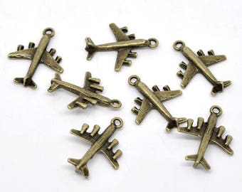 Large charms have 3D bronze metal (x 4)