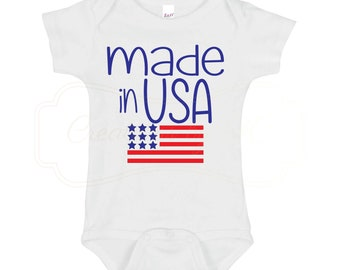 Made in USA Infant One-Piece