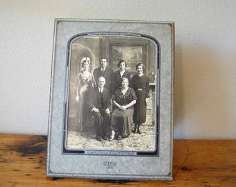 Vintage Photograph Vintage Sepia Black and White Photograph Vintage Family Photograph from The Eclectic Interior