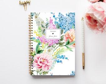 2018-2019 Planner - 2018 Weekly Planner - Custom Planner - Journal - 2018 Diary - Custom Gift - A5 Planner - Student Planner