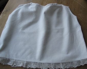 An Antique Vest Petticoat, Slip, Gown, Baby Shower, Gift