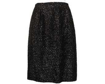 Rare Stephen Sprouse Skirt, Black Eyelash, Collectible, Vintage 1980s