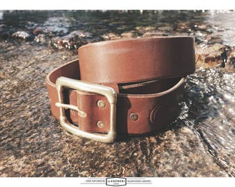 FULL GRAIN LEATHER belt 40mm