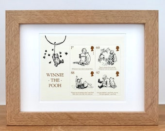 Classic Winnie The Pooh Nursery - Pooh Quotes - Winnie The Pooh Gift - Winnie The Pooh Gifts for Adults - Pooh Bear - Christening Gifts