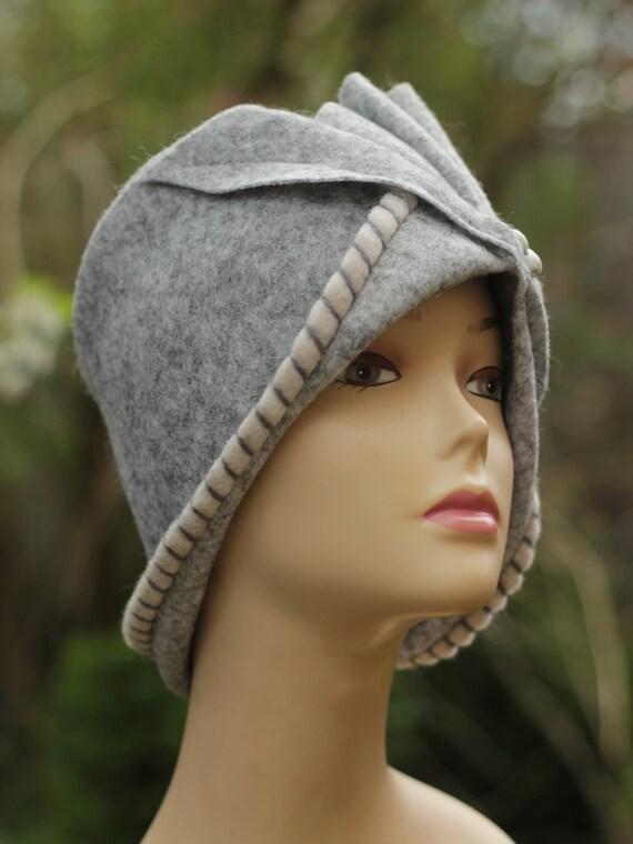 Hats for women gray Wool Hat Winter Hats Womens Winter Wear