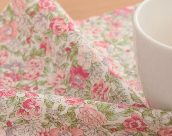 Shabby Flower cotton by the yard (width 44 inches) 77681-1