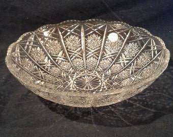 Vintage Pressed Glass Bowl