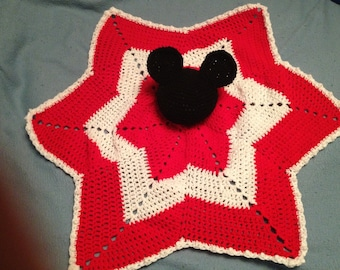 Mouse Ears Baby Blanket