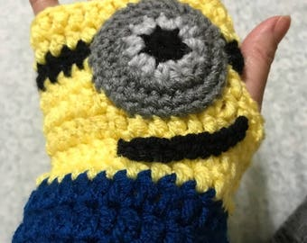 Minion Gloves - all sizes