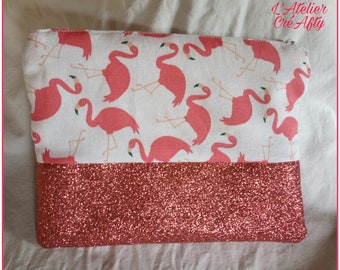 Trousse flamands roses