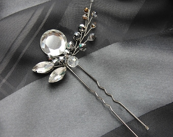 Hairpin Crystal Hairpin Decor in hair Crystal for hair Hair piece