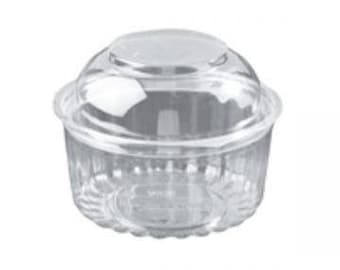 50 Mini Bundt Cake Containers w/hinged Lid - Favors