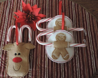 Adorable Holiday Candy Canes