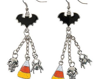 Bat Dangle Earrings