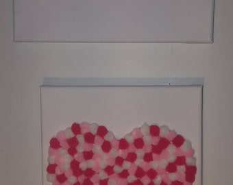 Pompom Valentine's Day decoration