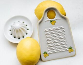 Vintage Lemon Zester and Juicer   Retro Kitchen
