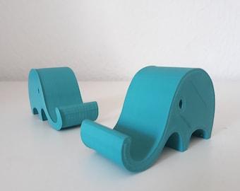 Süßer Handyhalter in Elefantenform - 3D Druck