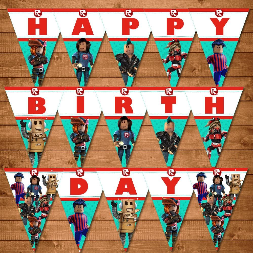 Roblox Birthday Banner Roblox Happy Birthday Banner Roblox