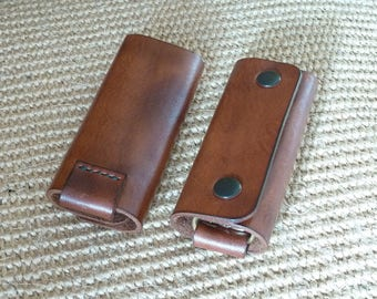 SCKLeather Handcrafted Multi Key Case in Soft Italian veg Tanned leather