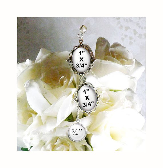 Wedding Flowers Quote: Photo And Quote Bridal Bouquet Charm Use Your Own Picture And