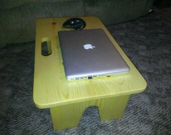 Lap top computer desk