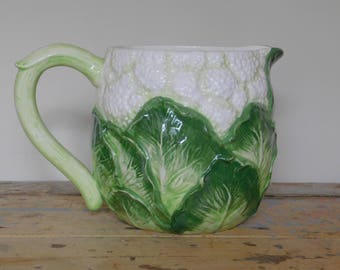 Kitsch Cauliflower Pitcher