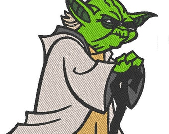 Yoda - Star Wars (motif de broderie)