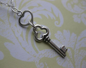 Key to my heart  Pendant  Key  jewelry  Handmade, Custom Jewelry