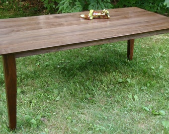 Handsome Walnut Parson's Table