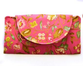 Wallet | Women's Wallet | Fabric Wallet | Floral Wallet | Woman's gift | Gift for Her | Handbags | Purses | Bi-fold Wallet | Slim Wallet