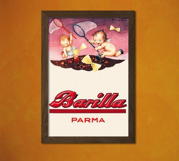 Barilla Poster Küche Poster Pasta Poster Küche Dekor Küche