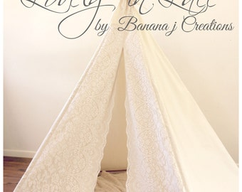 Lace Inspired Tee Pee
