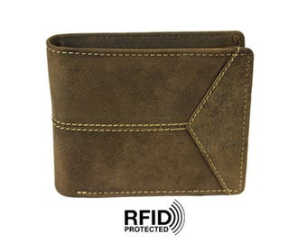 Genuine Hunter Leather Wallet