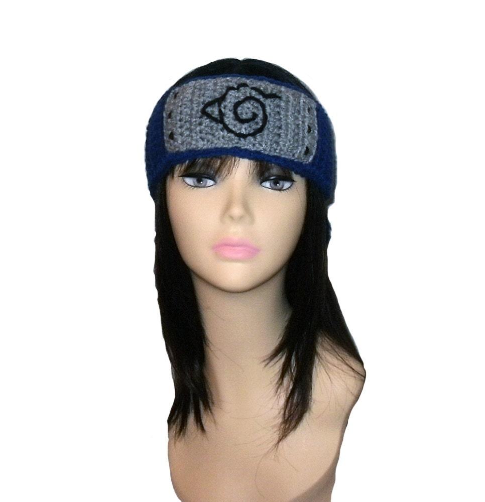 Crochet Pattern PDF Naruto Headband. All Sizes Included: