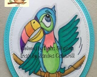 925 Toucan Birdy Digi Stamp