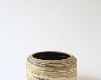 ceramic marbled stoneware bowl