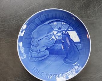 1963 Bing & Grondahl Christmas Plate