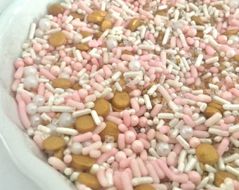 Pretty In Pink  sprinkle mix 4 oz