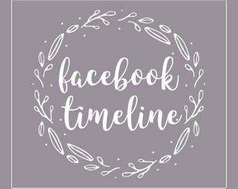 Custom Facebook Timeline / Facebook Cover / FB Business Page Cover / Facebook Timeline