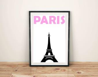 Paris Print // Paris Decor // France Art // Paris Wall Art // Paris Poster // Paris Art // French Gift // Paris Gift // French Poster