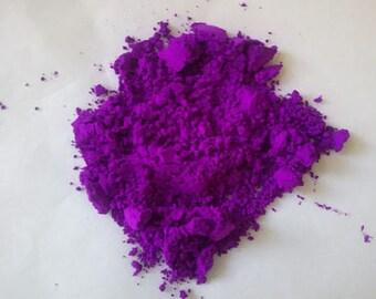 1 Oz Neon Purple Mica Pigment Nail Polish Eye Shadows Lip Products