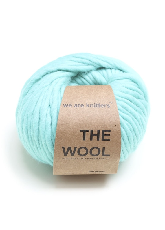 BIG WOOL  200 g. - turquise / tyrkis