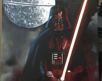 Darth Vader and the Death Star